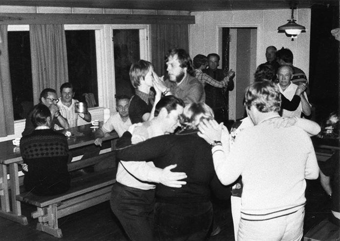 Kosken VPK:n saunaretki 1977