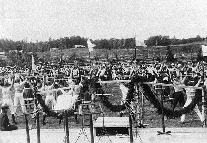 Voimistelu- ja laulujuhlat 1910