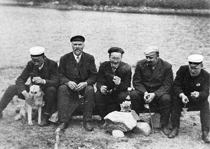 Retki luontoon v. 1910 tienoilla