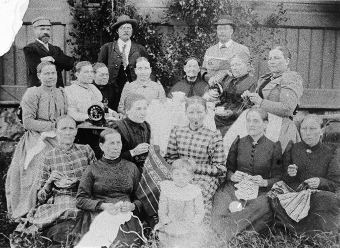 Ompeluseura v. 1898