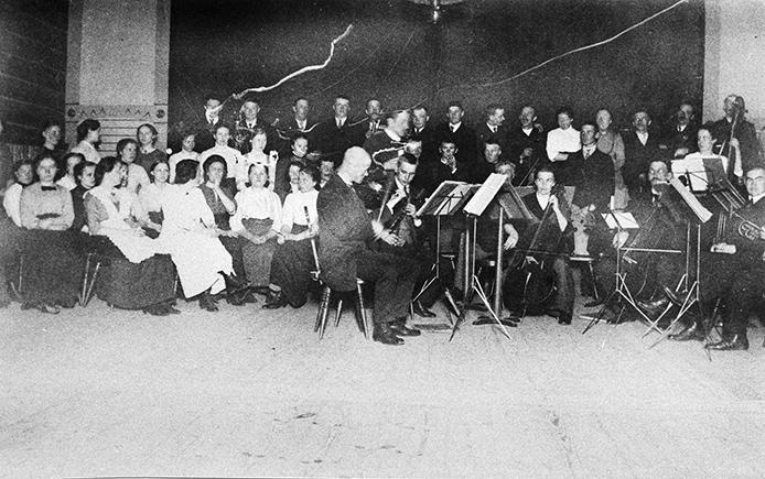 Kosken orkesteri 1913