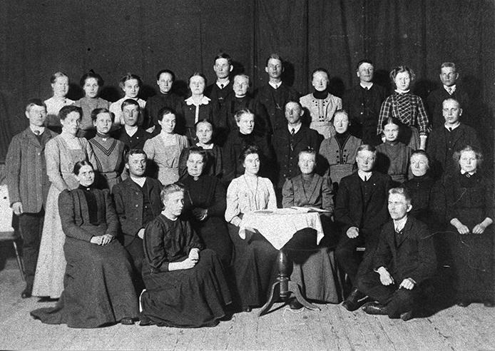 Kosken Raittiusseura v. 1910