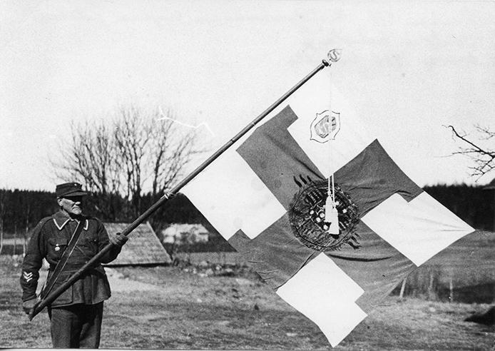 Kosken suojeluskunnan lippu