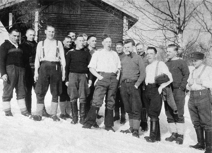 22. Pion. komppanian miehiä