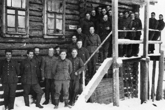 Pion.kol. 21. Jatkosodan ajalta Syväriltä