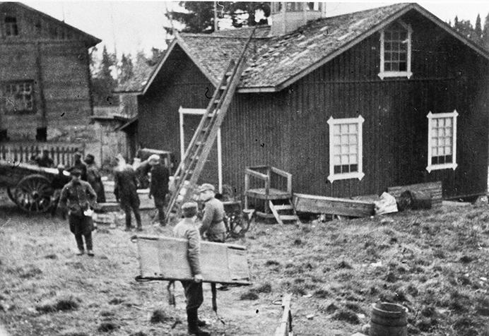 Kotiinpaluu syksyllä 1944