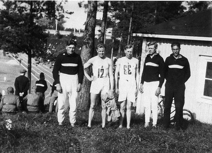 Etelä-Hämeen S.K. piirin 3000m:n juoksujoukkue