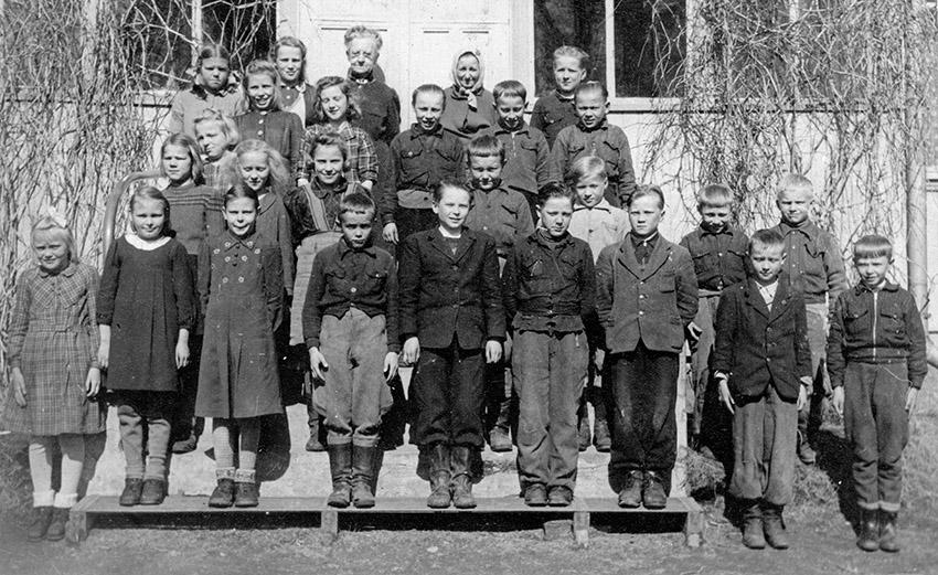Vuoden 1947 luokkakuva