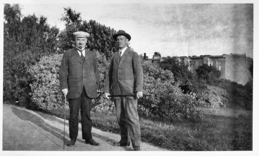 Jurva ja Mäkelä Helsingissä 1920