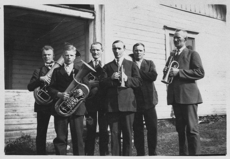 Kosken Hl torvisoittokunta 1930-luvulla