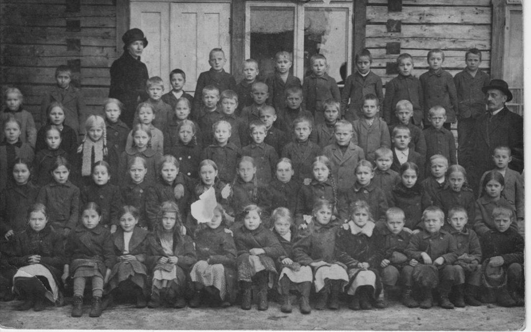 Koski Hl Kirkonkylän koulu 1917
