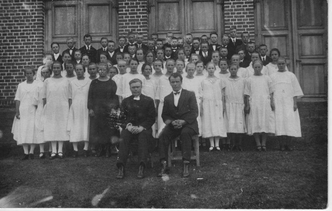 Koski Hl Rippikoululaiset 1926