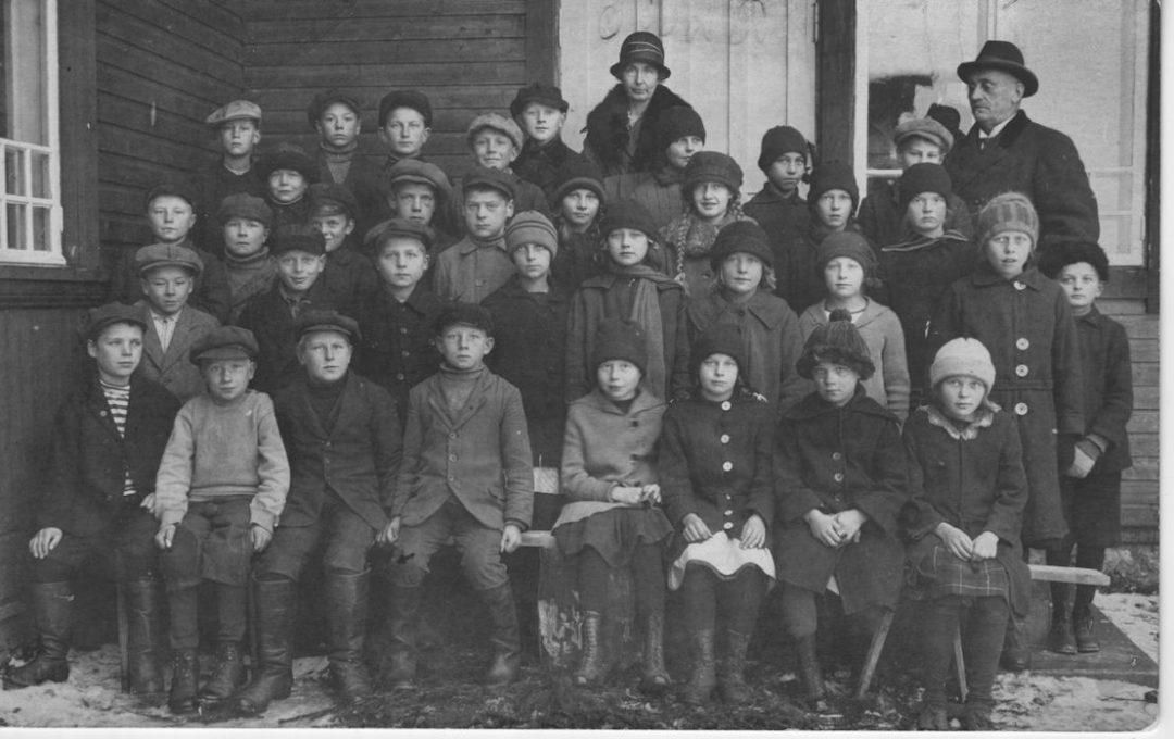 Koski Hl Kirkonkylän koulu 1923