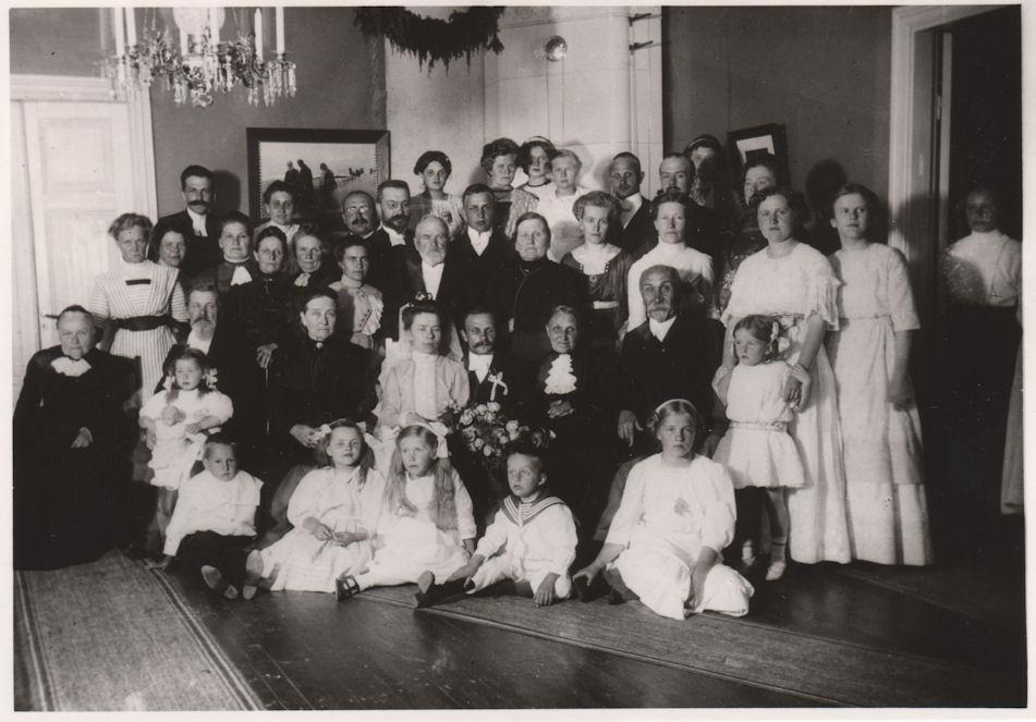 Toivo ja Irene Tammisen häät 1912