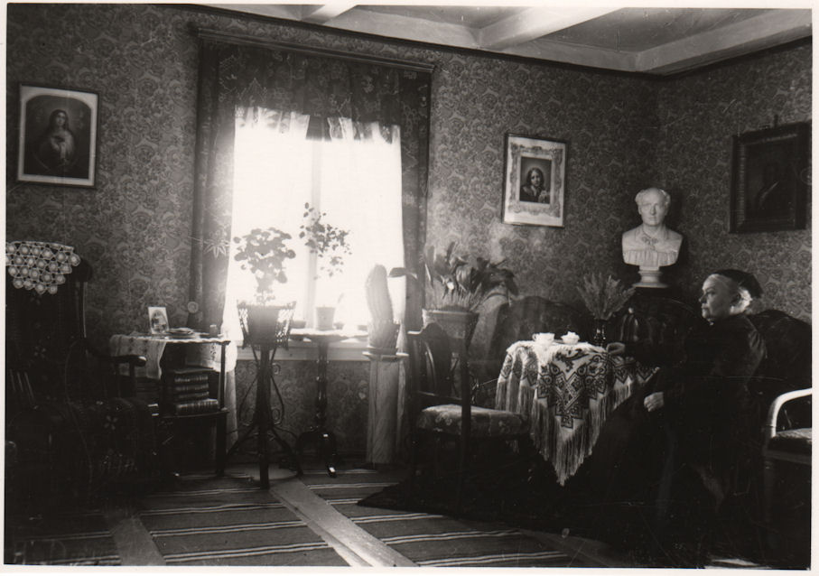 Palomaan Tanttila ja Frida Gebhard 1904