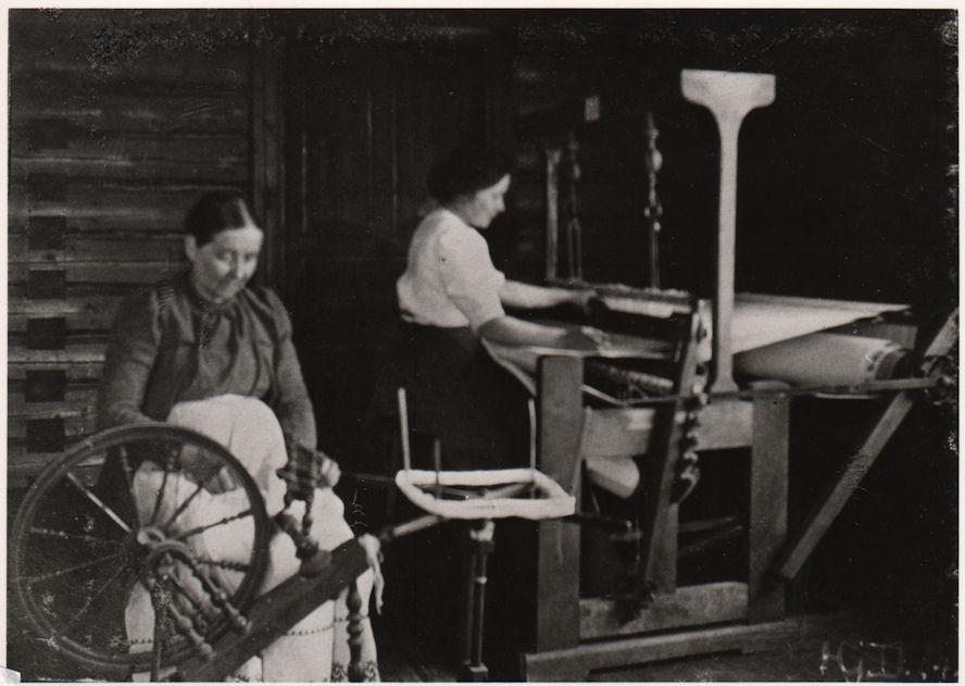 Maria ja Selma Dufva 1904