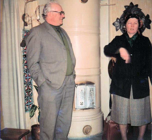 Pauli Paasivirta ja Kaarina Vilén 1980