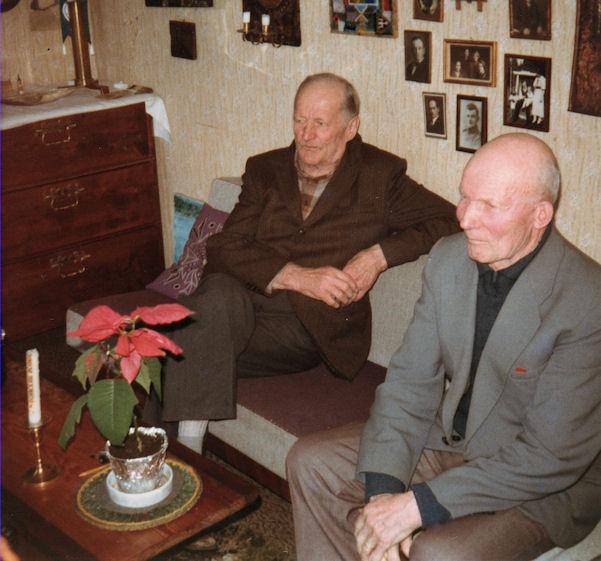 Kalle Helen ja Jalmari Rekola 1980