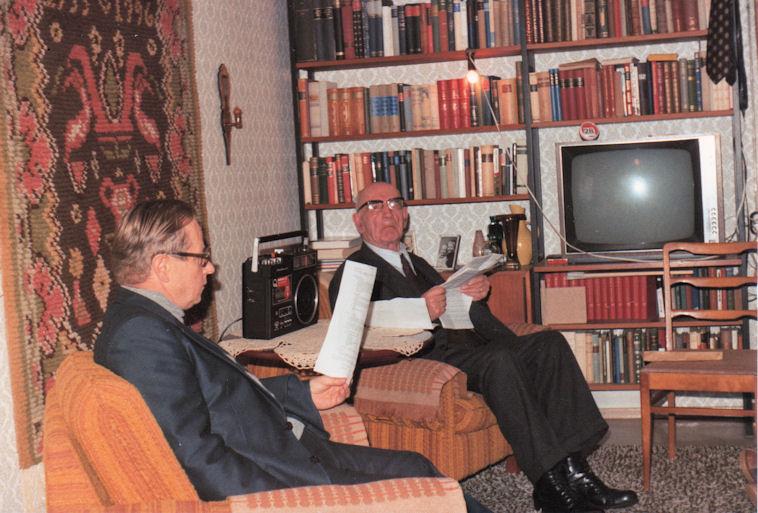 Rovasti Ilmari Salosen haastattelu 1978
