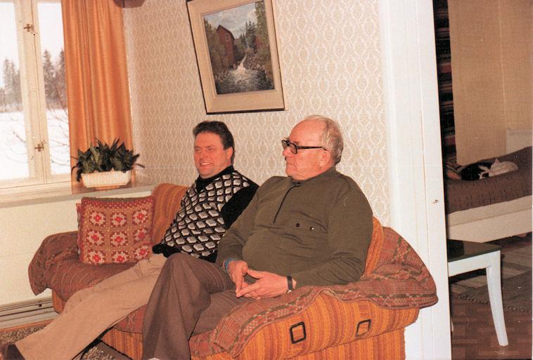 Antti Suomi ja Pauli Paasivirta 1978