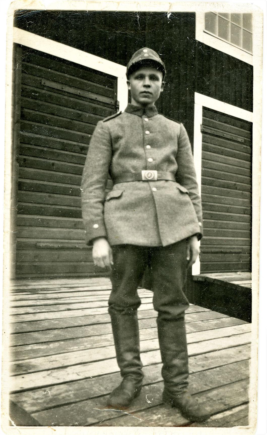 Viljo Heinonen armeijassa