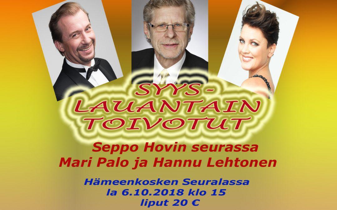 SYYSLAUANTAIN TOIVOTUT – konsertti