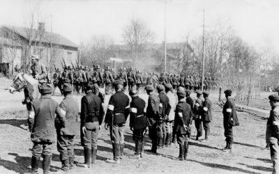 Sota 1918 Hollolassa ja Koskella Hl näyttely esinemuseolla