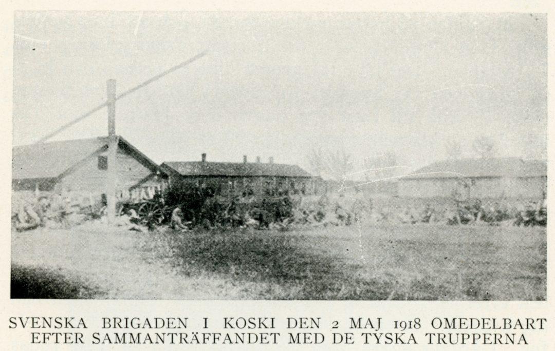 Ruotsalainen prikaati Koskella 1918