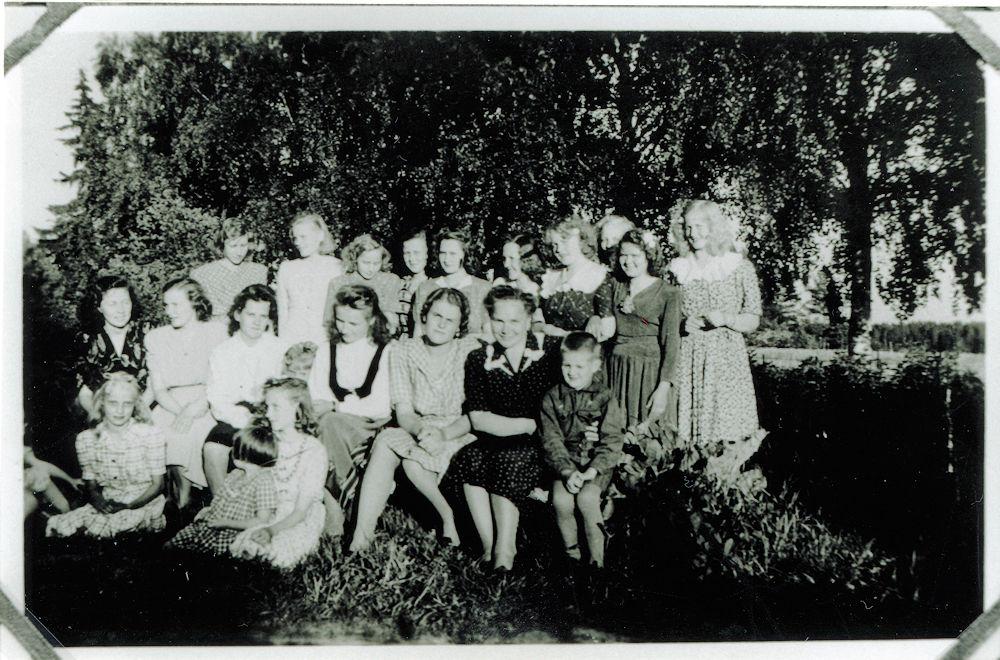 Putulan nuorisoa 1940-luvulla