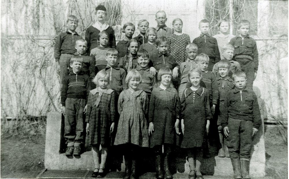 Putulan kansakoulun koulukuva