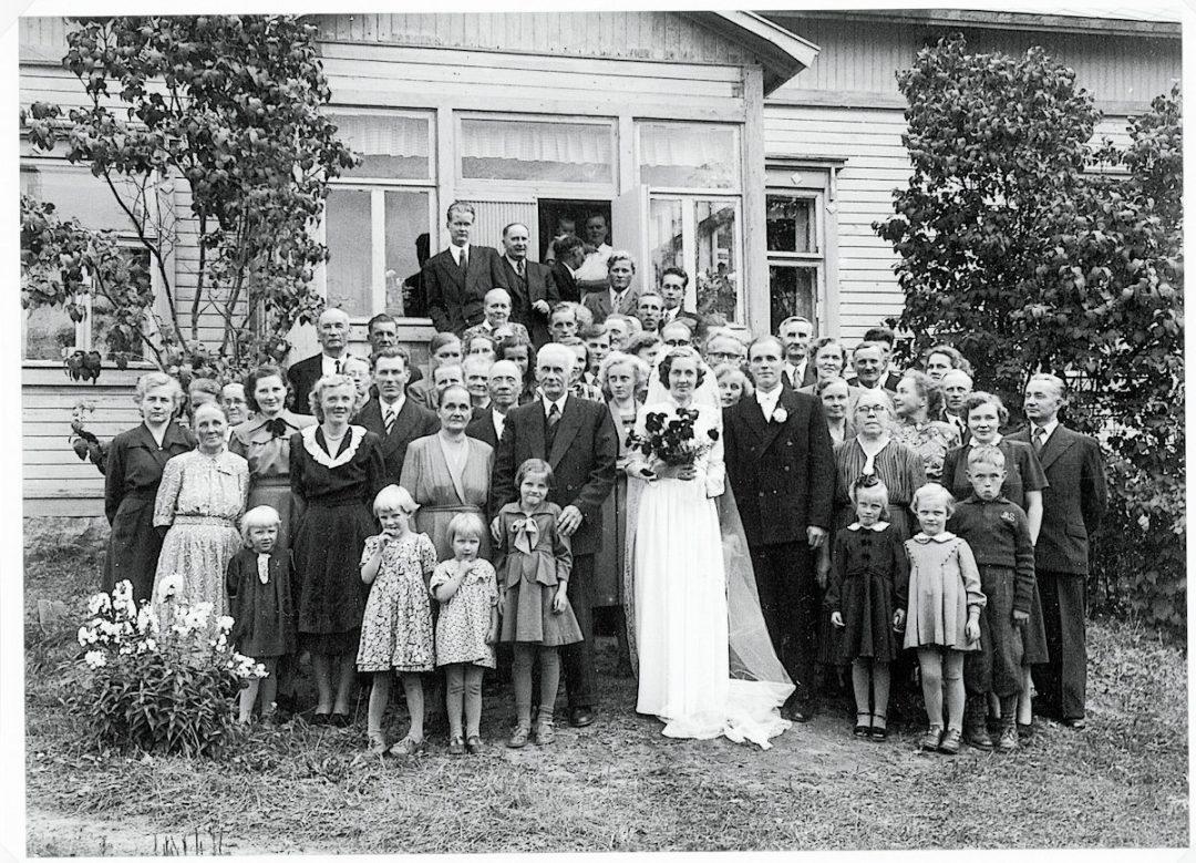 Helka ja Mikko Rokkilan häät 1951