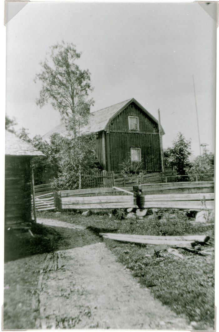 Hyrkkälän kartanon vanha rakennus v. 1928