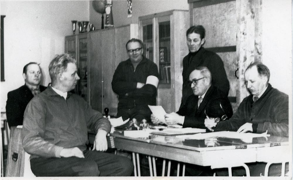 Vaalilautakunta 14.1.1962 Hyväneula