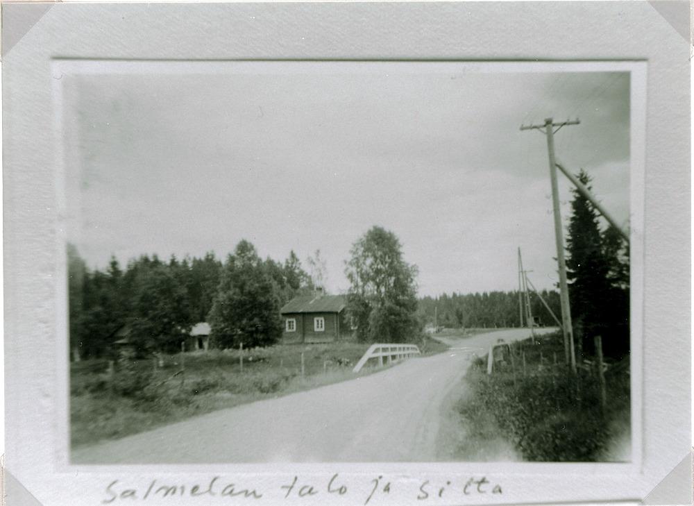 Salmelan talo ja silta, Hyrkkälä