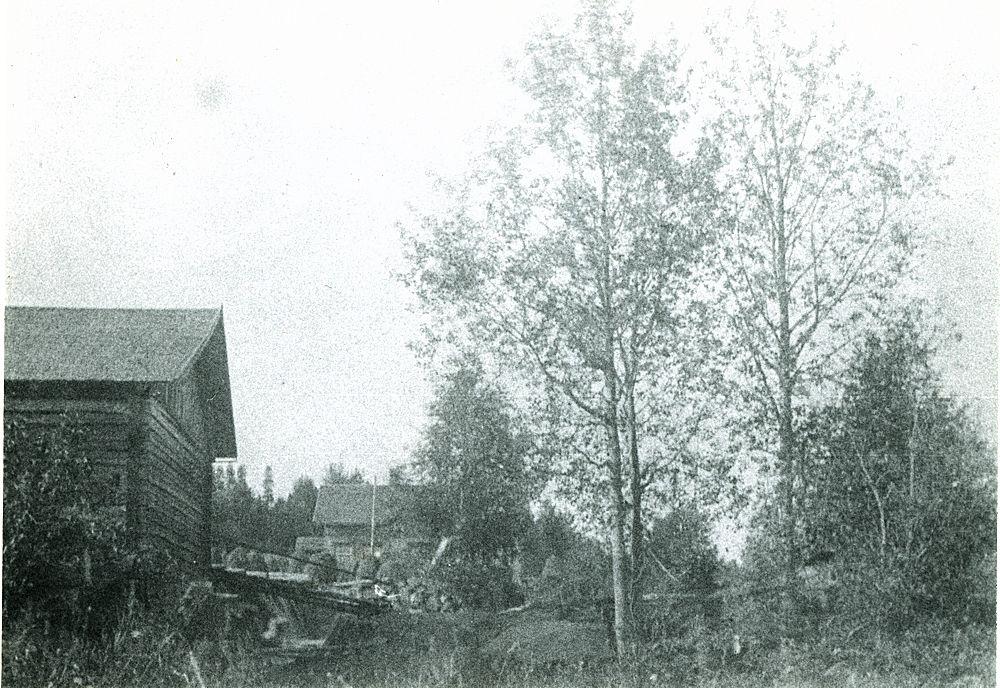 Hyrkkälän mylly v. 1913