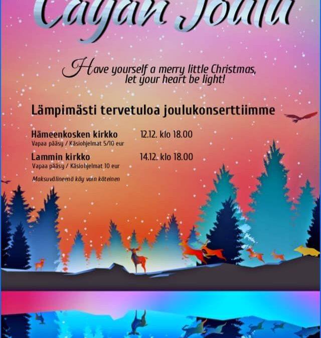 Lauluyhtye Cayan joulu