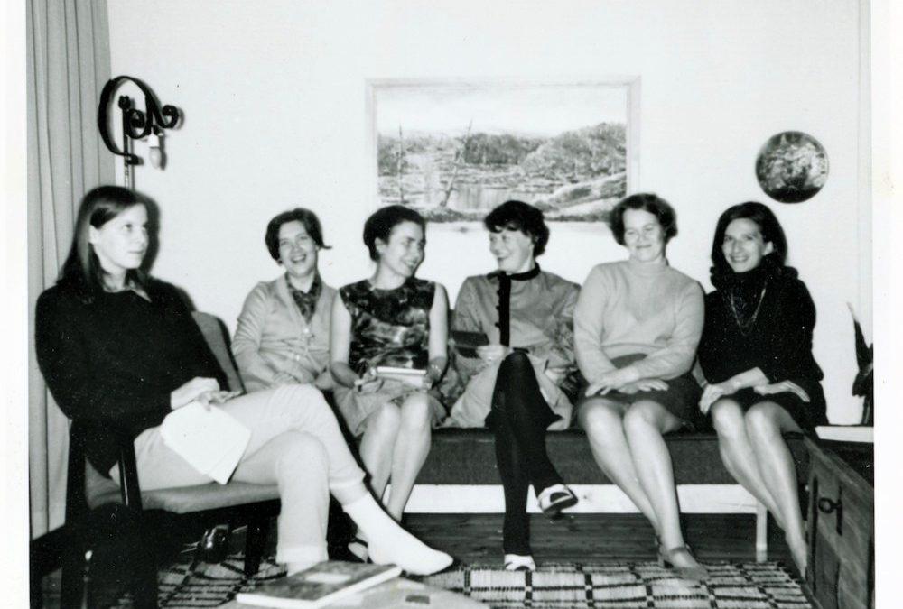 Kosken Kuohun Naisvoimistelijat johtokunta 1969