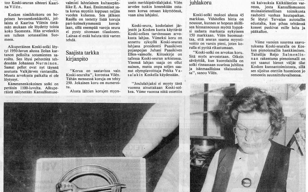 Kaarina Vilén kertoo Koskikorusta