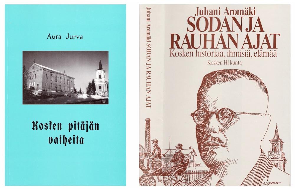 Uusi kirja Hämeenkosken historiasta