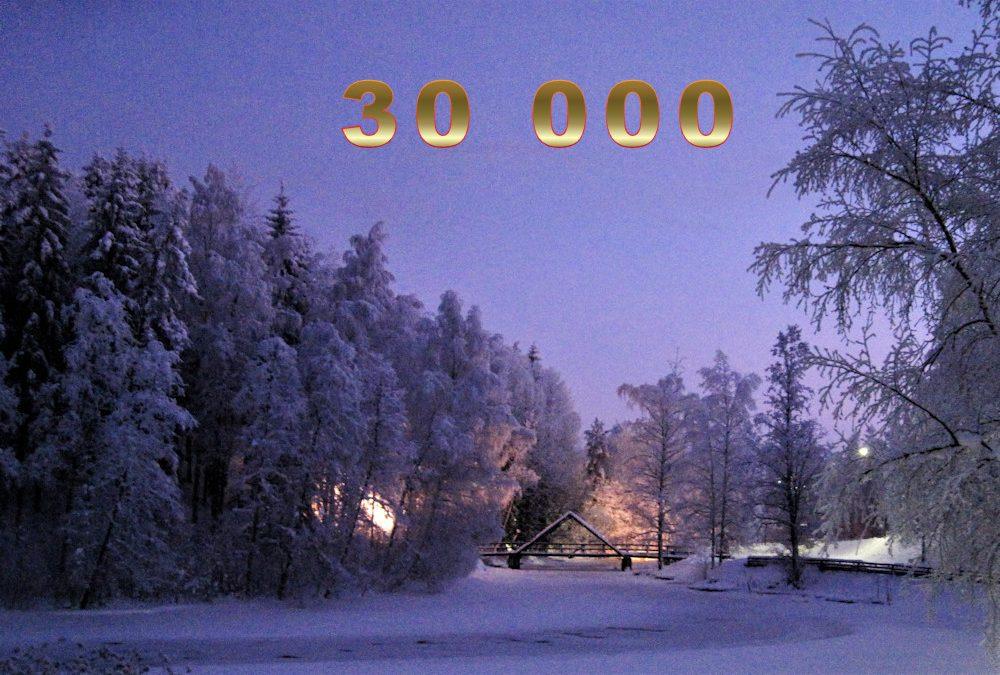 Kosken Kohinat -sivuilla 30 000 kävijää