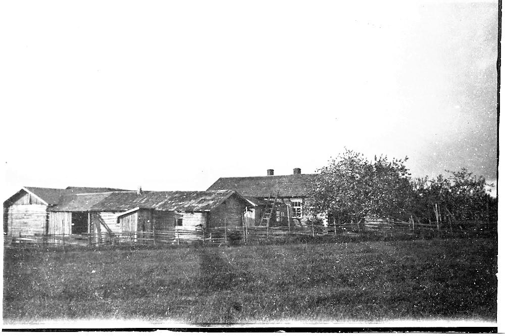 Peltolan torppa Pitkälän mäellä ennen v. 1929