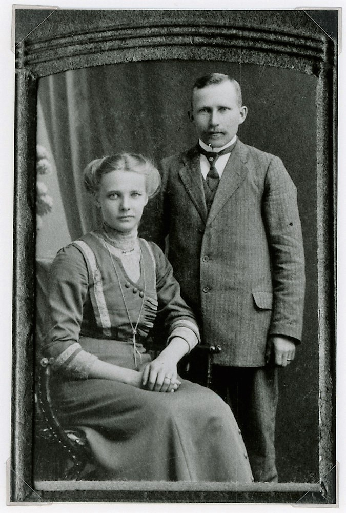 Ollila häät Putulassa v. 1933