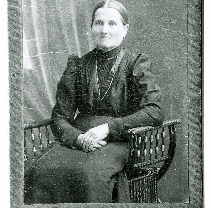 Tupaselan emäntä Josefina Erik Kustaan tytär Harjula