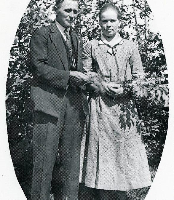 Väinö Koskinen ja vaimo Aino