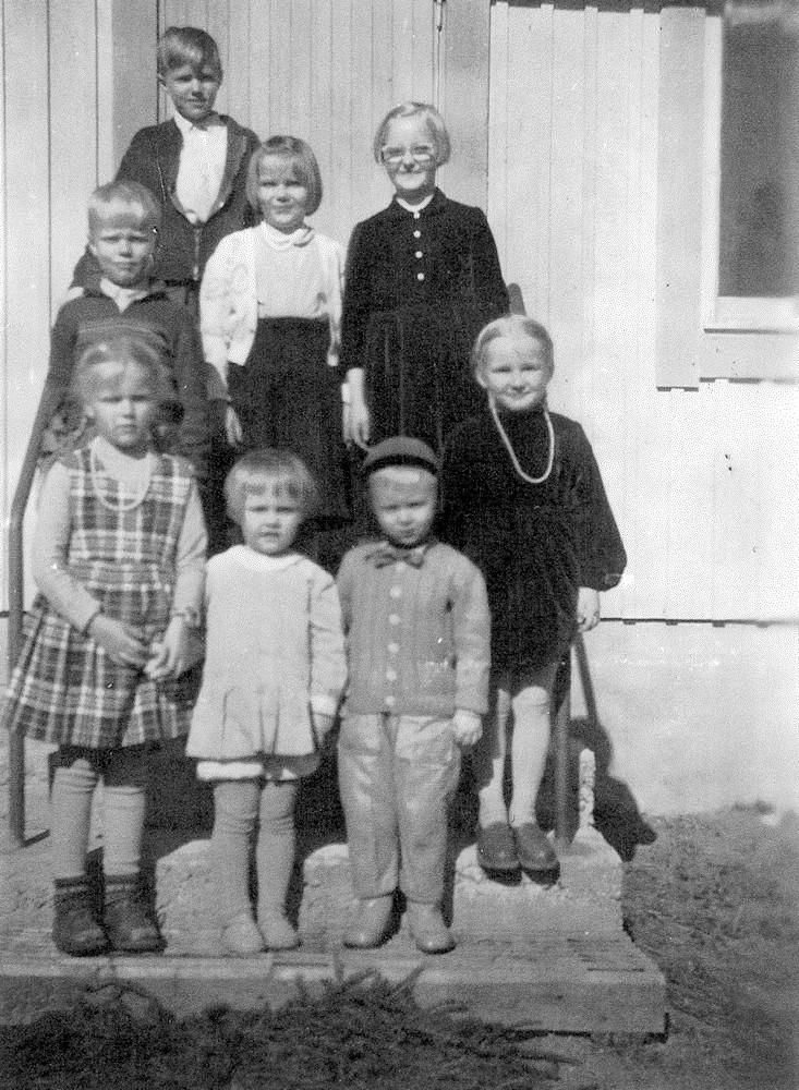 Marja-Liisa Niemisen 10-vuotissyntymäpäivät v. 1959