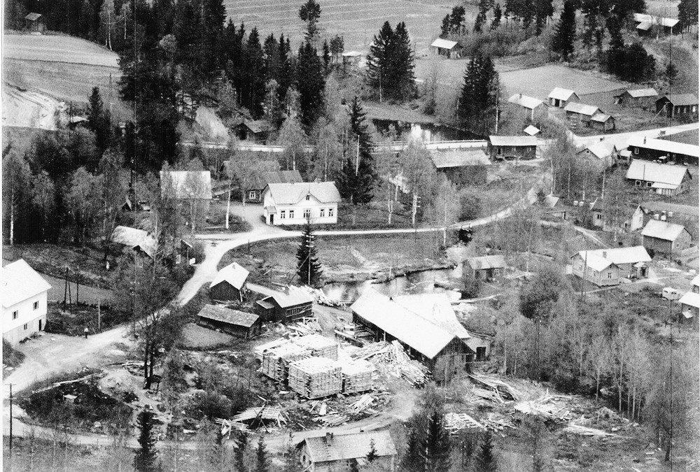 Ilmakuva Hyrkkälä / Putula, 1940-1950-luku