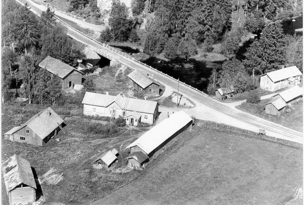 Ilmakuva, Putula / Hyrkkälä, 1940-1950-luku
