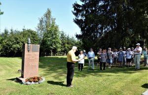 Vakaumuksensa puolesta kaatuneiden muistomerkillä
