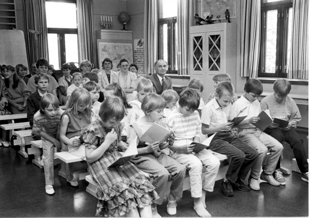 Kevätjuhla Etolan koululla