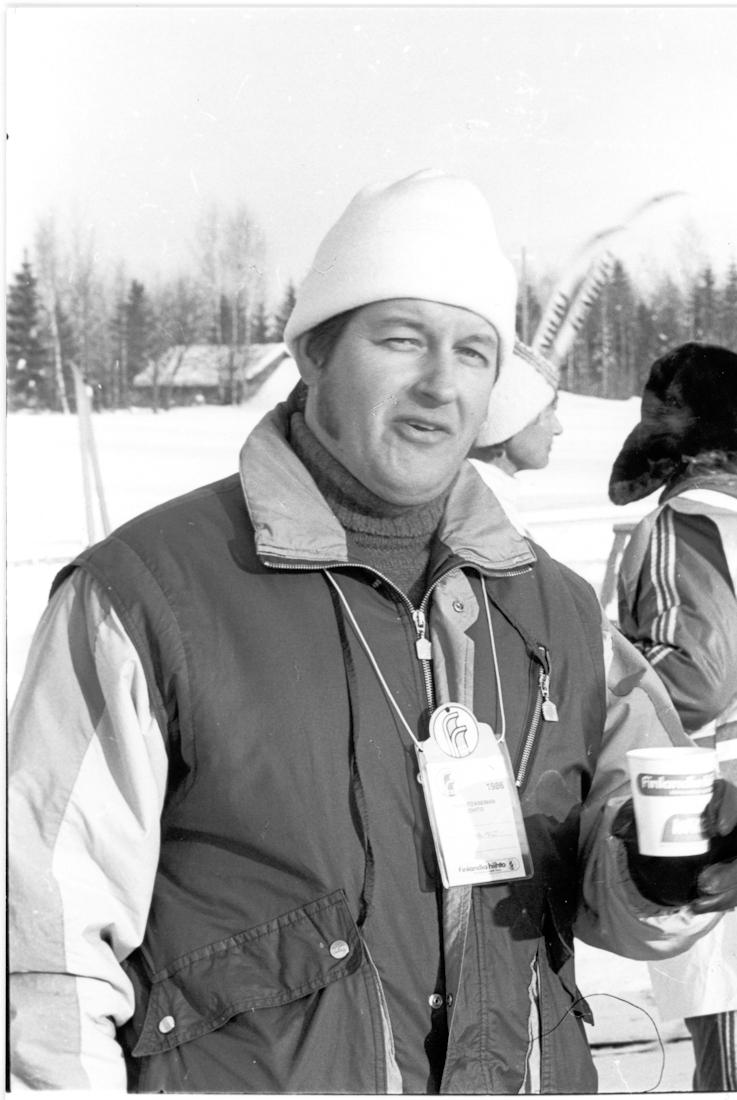 Finlandia-hiihdon Kaunkorven huoltoaseman toimintaa